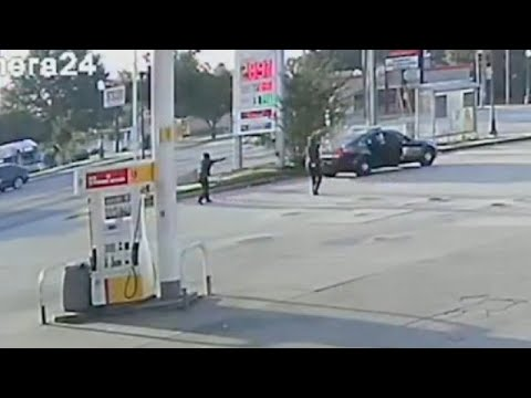 Atlanta Cops Firing Like Crazy In Deadly Gas Station Shooting