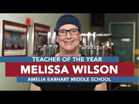 RUSD Teacher of the Year 2018: Melissa Wilson -  Amelia Earhart Middle School