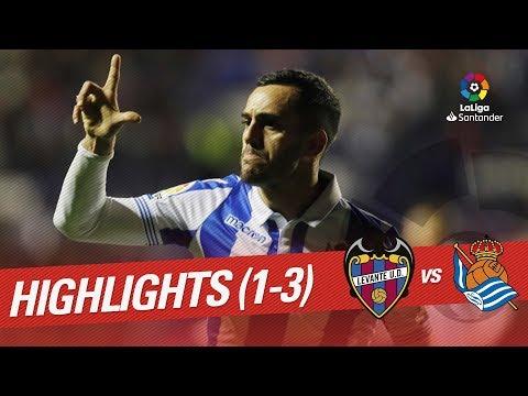 Resumen de Levante UD vs Real Sociedad (1-3)