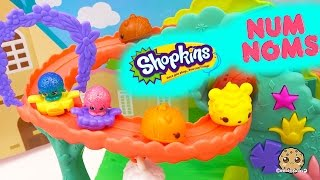 Shopkins Season 4 Meet Num Noms and Ride On Rollercoster - Play Video Cookieswirlc