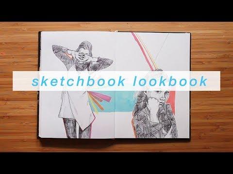 sketchbook-lookbook