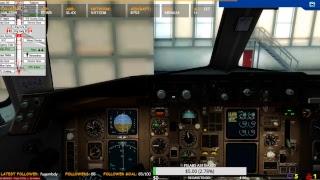 VATSIM Captainsim B752 KEWR to KLAX