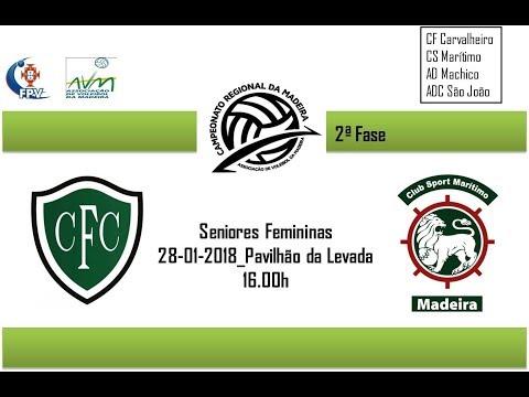 CF Carvalheiro Vs CS Marítimo (Sen-Fem) 28-01-2018