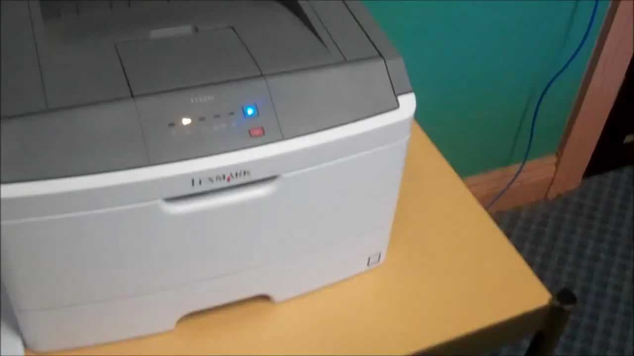 Lexmark Printer - Paper Jam