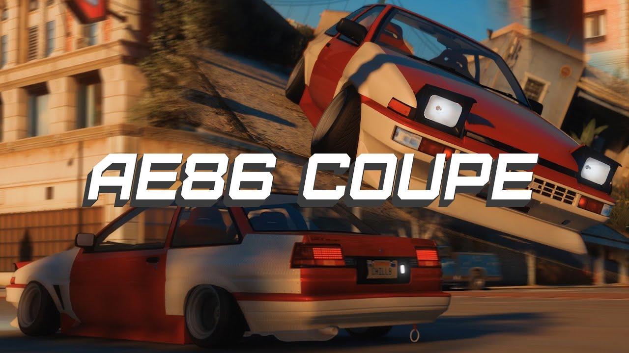 AE86 COUPE   GTA V
