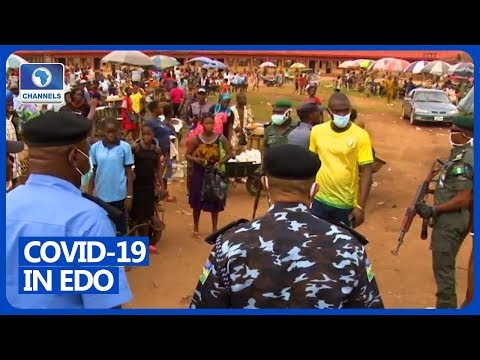 COVID-19: Edo Police Check Compliance Within Benin City
