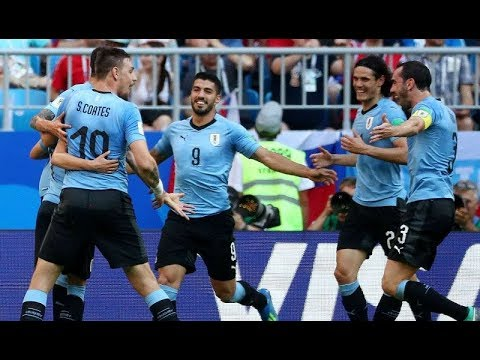 All Goals Of Uruguay In 2018 FIFA World Cup Russia | All Amazing Goals & Moments