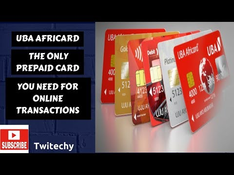 UBA Africard: The Only Prepaid Card You Need For Online Business