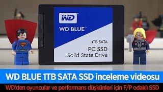 WD Blue 1TB SSD İnceleme Videosu   WD'den F/P Odaklı Performanslı SSD