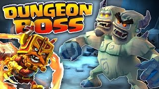 THE TRIO OF POWER HEROES!!! - Dungeon Boss Gameplay Walkthrough Ep. 1 - iOS & Android