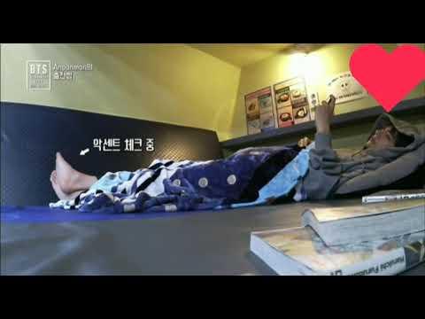"[180524] Taehyung Learning English   BTS 방탄 소년단 - ""Airplane pt.2"" Comeback Show 2018"