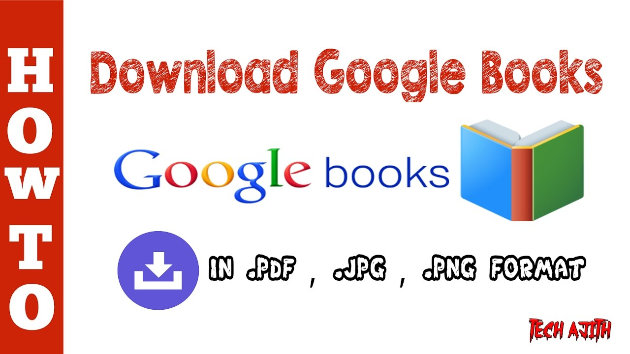 How To Books From Google Books As Pdf