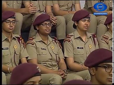 Programme on AFPI Mohali by Doordarshan