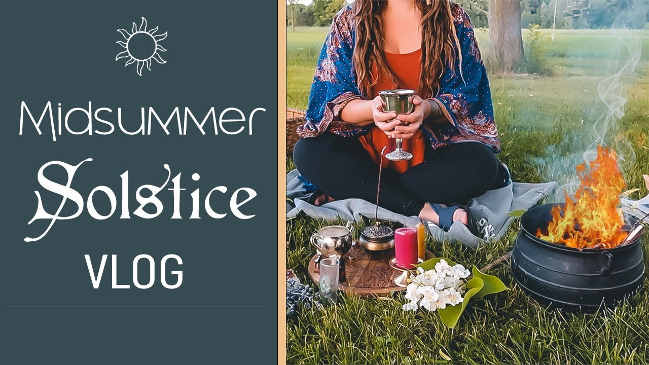Spend the Solstice With Me! - Midsummer Vlog