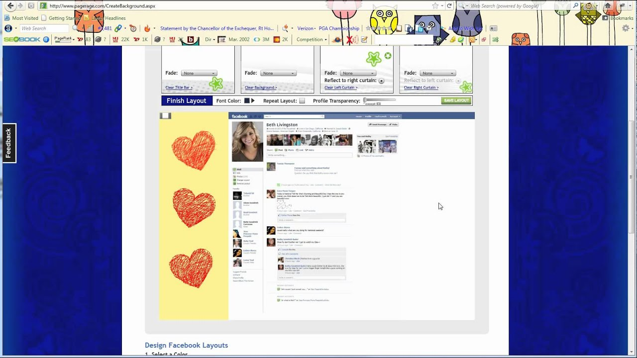Color art facebook - How To Add Clip Art Images To Facebook Layouts