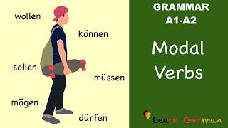learn german   german grammar   modalverben   modal verbs   a1