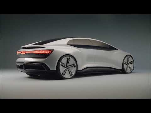 2018 Intelligent Audi AICON Electric Concept First Look - Best LUXURY Electric Sedan For Future