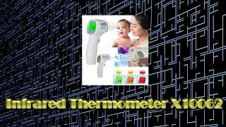 Infrared Body Thermometer gun X10062 - Обзор