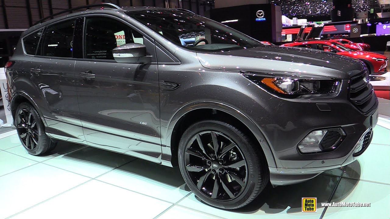 2017 ford kuga sport exterior walkaround 2016 geneva. Black Bedroom Furniture Sets. Home Design Ideas