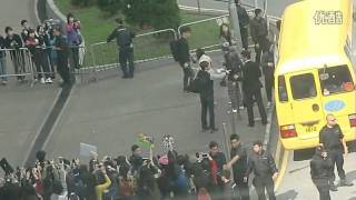 [Fancam] 121201 EXO Arrived At HongKong Airport (back To Korea)