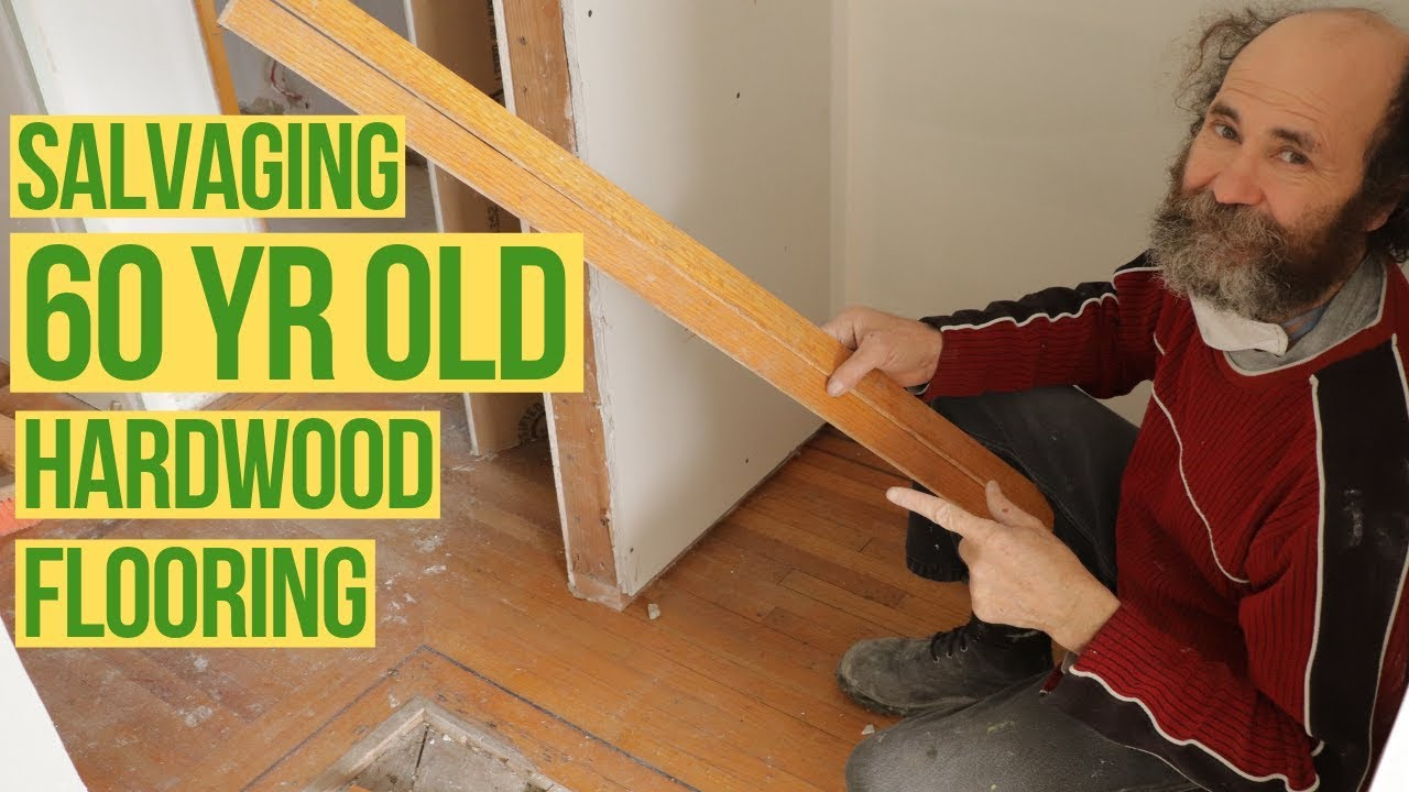 How To Remove Hardwood Flooring For Reuse Youtube