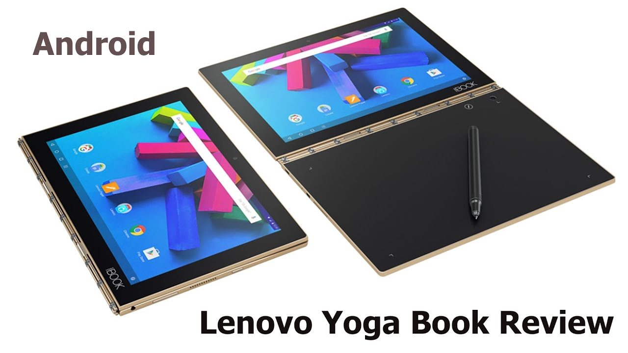 Book Cover Material Yoga : Lenovo yoga book review android youtube