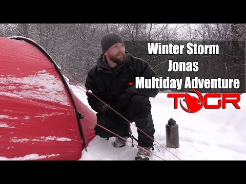 Now That's a Snow Storm! - Winter Storm Jonas - Multiday Adventure
