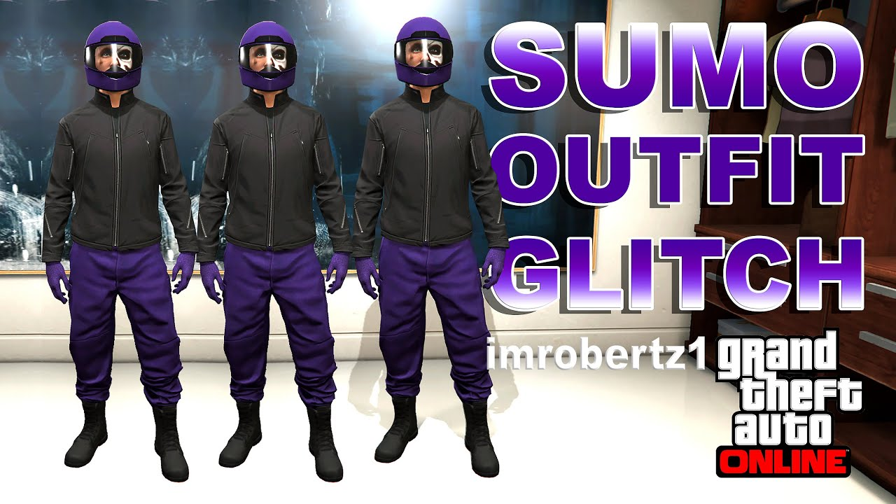 GTA 5 Online - Best Rare Sumo Outfit Glitch! Cool Sumo Clothing! GTA 5 Glitches! - YouTube