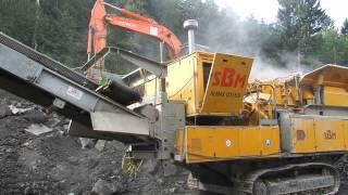mobile Siebanlage im Einsatz by Martin Günther