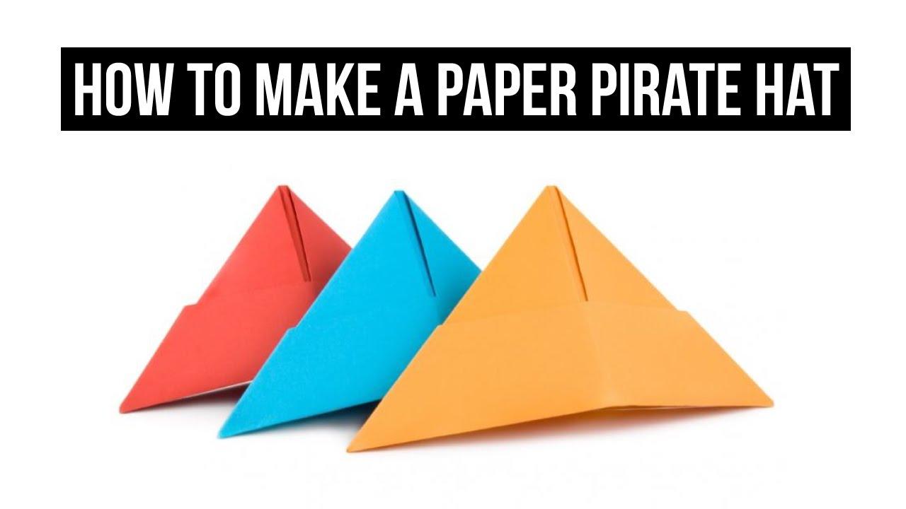 paper pirate hat template