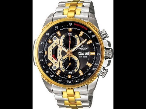 17b25d1666e2 Casio Edifice Analog Watch - YouTube