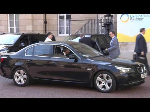 Ukraine Reform Conference, Arrivals