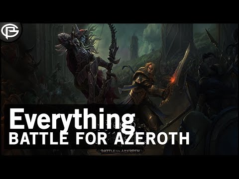 Battle for Azeroth|Classic - Everything We Know