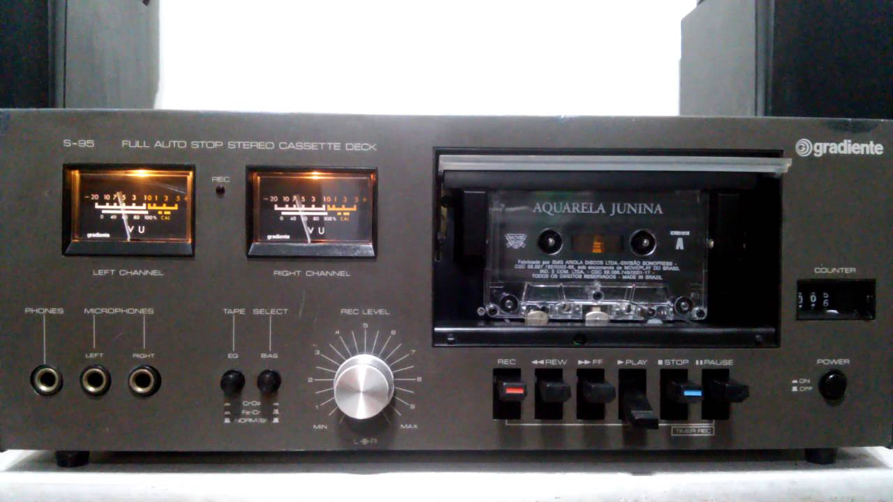 Tape Deck Gradiente S95 Equipo  3