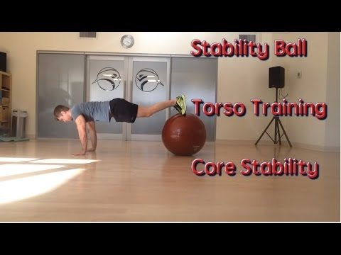 Stability Ball Exercises - Advanced