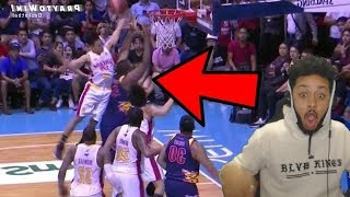 HE WENT CRAZY!!! SCOTTIE THOMPSON REBOUNDING MACHINE REACTION