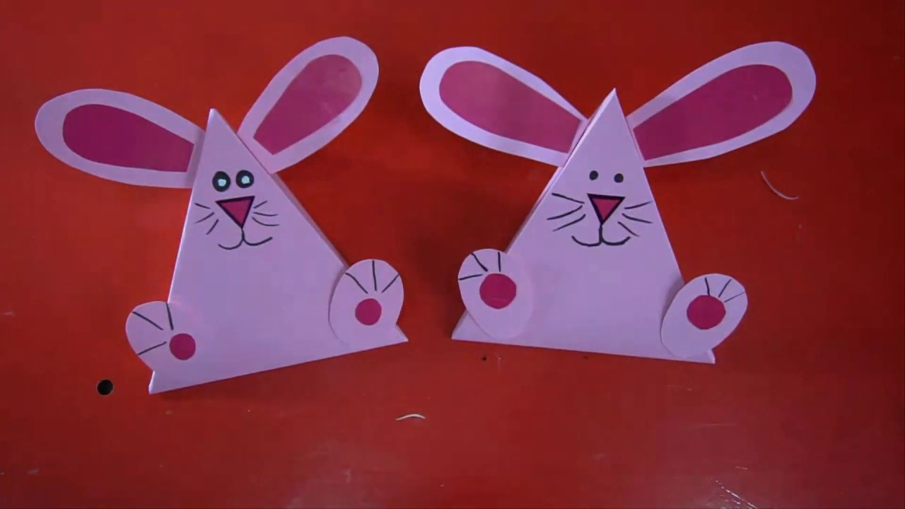 Diy Box Rabbit For A Gift Do It Yourself Paper Craft Art