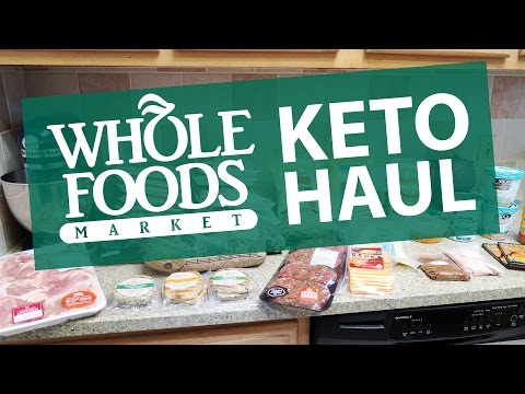 Whole Foods Keto Grocery Haul | Ketogenic Diet | Low Carb, High Fat