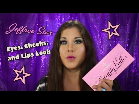 Eyes, Cheeks and Lips Tutorial with JEFFREE STAR Beauty Killer Palette!
