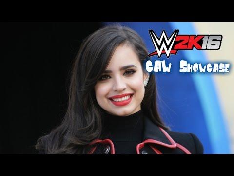 WWE 2K16 CAW Showcase #3: Sofia Carson