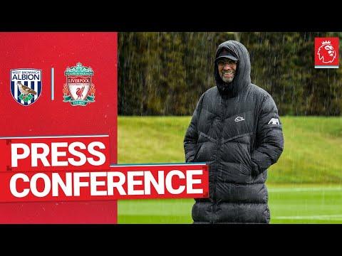 Jürgen Klopp's pre-match press conference   West Bromwich Albion