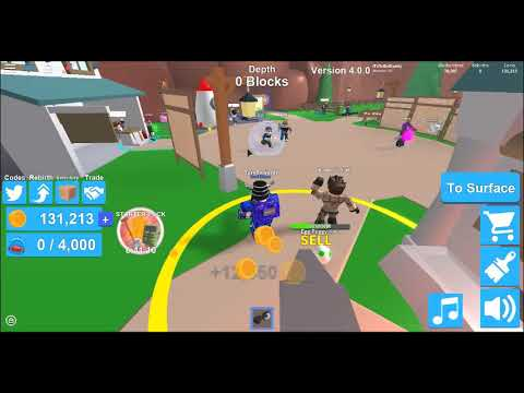 Hatching A Common And Unique Egg Roblox Mining Simulator Youtube