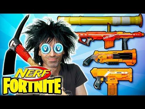 NERF Fortnite: Loadout Challenge!