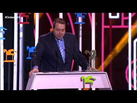 Martín Llade Ondas a mejor programa y presentador de radio | Premios Ondas 2016