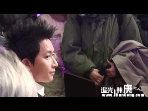 [追光韩庚]111204 HanGeng at Beijing Television Influence Awards Ceremony
