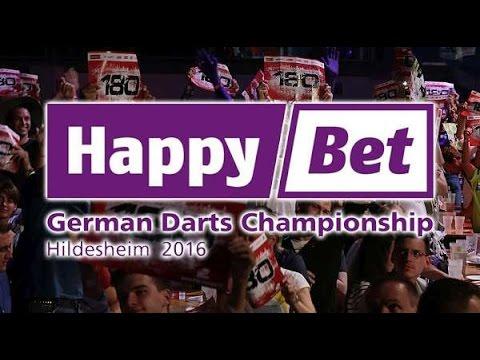 2016 German Darts Championship Round 1 Boulton vs S.Taylor