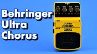 Behringer Ultra Chorus UC200 Guitar Pedal Demo