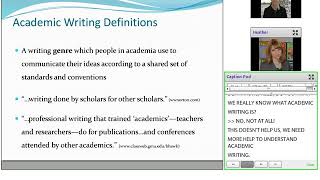 Unraveling the Mystery of Academic Writing