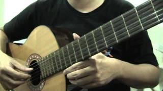 guitar study 8 ฝึกเล่นเพลง romance de amor ตอนที่ 1