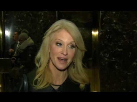 Kellyanne Conway. Trump Tower. NYC. Nov, 21. 2016. Donald Trump ...